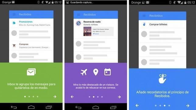 Probamos Inbox, la nueva aplicación de correo de Google