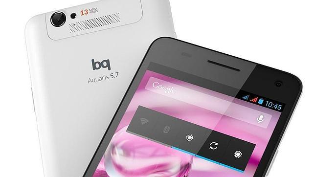Aquaris 5.7, el nuevo smartphone de bq