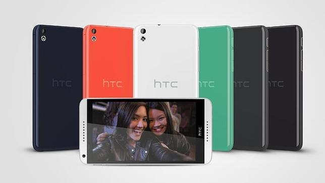 MWC 2014: HTC Desire 816, un «smartphone» pensado para hacer «selfies»