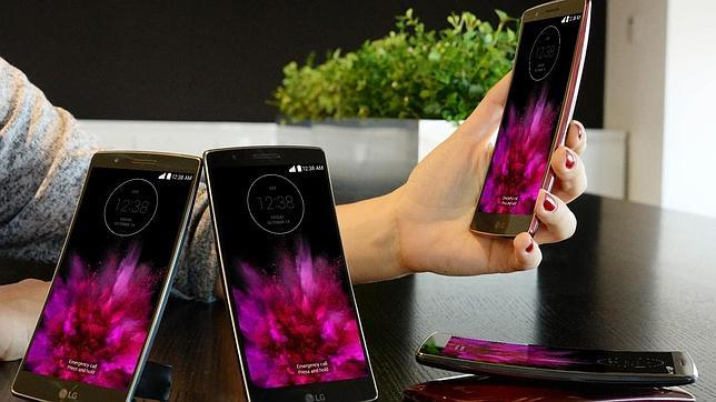 El segundo móvil curvado de LG llega a Europa