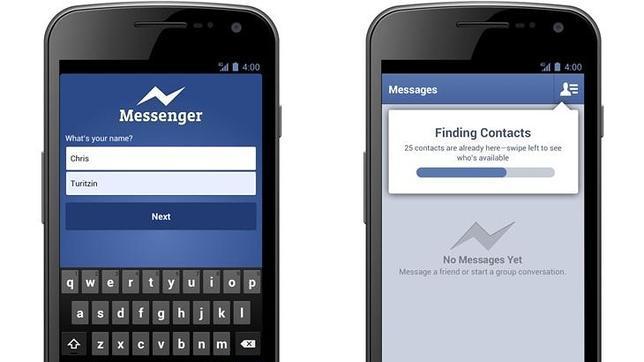 Facebook Messenger empieza a permitir llamadas gratis en Reino Unido