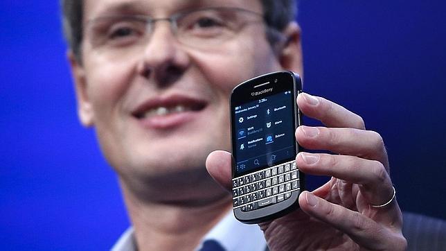 Blackberry integrará Skype en sus nuevos móviles