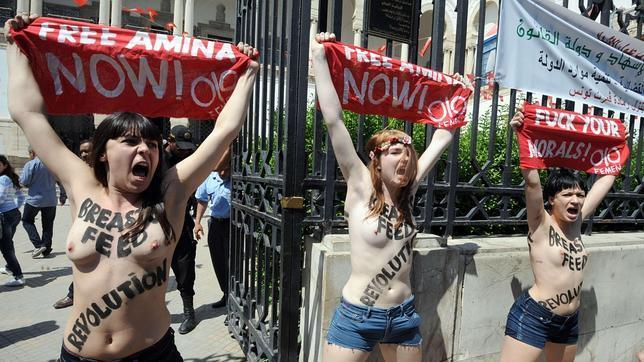 «¡Zukerberg, FEMEN no es pornografía!»