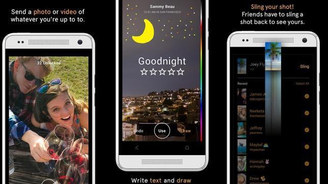 Despliegue mundial de Slingshot, la «app» de mensajería efímera de Facebook