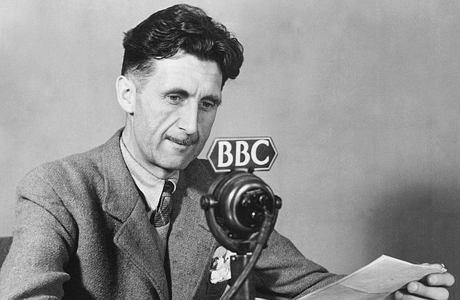 Rebelión en Twitter: los homenajes a George Orwell convierten en TT al escritor