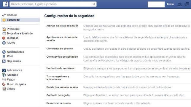 ¿Cómo mantener mi cuenta de Facebook segura?