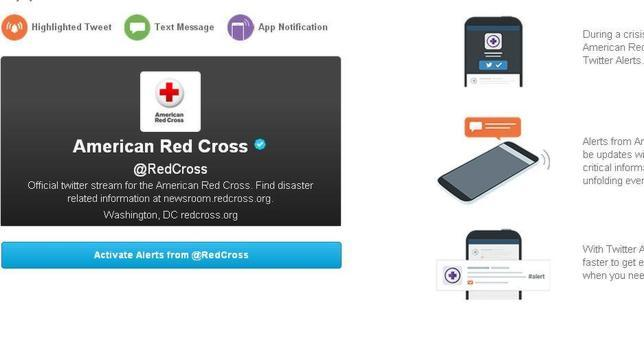 Twitter lanza «Alertas», mensajes destacados durante emergencias