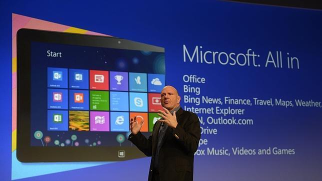 Windows 8, la mayor apuesta en la historia de Microsoft