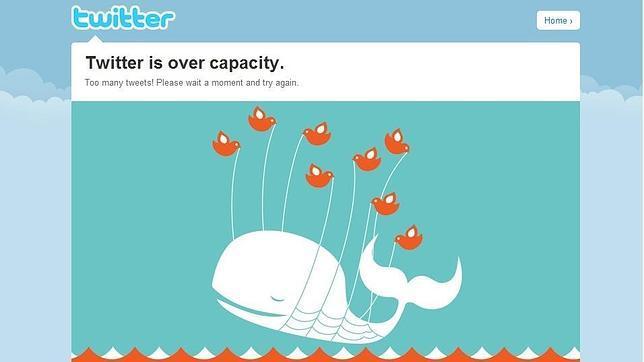 Twitter elimina la «ballena del error»
