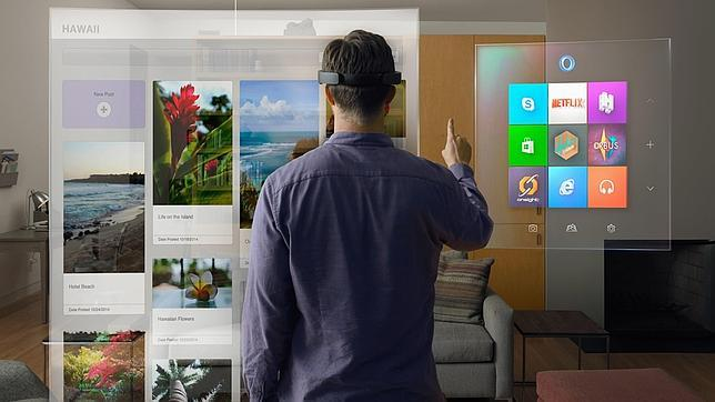 Microsoft invita a ver el futuro con imágenes holográficas