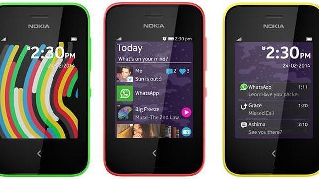 MWC 2014: Nokia Asha 230, un terminal los «primeros pasos» en el mundo de los «smartphones»