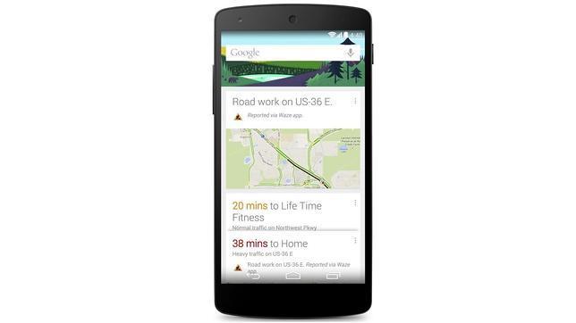 Google Now te avisará de cortes de tráfico o accidentes sin que preguntes