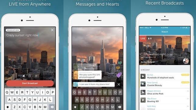 Twitter lanza Periscope, una aplicación móvil para emitir vídeo en directo