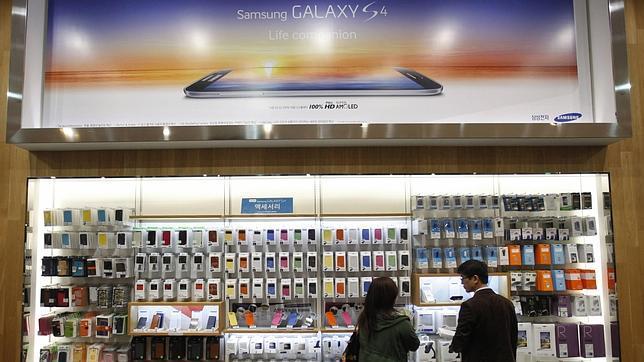 Samsung eleva un 41% su beneficio neto en el primer trimestre