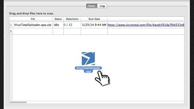 Google lanza VirusTotal Uploader para Mac