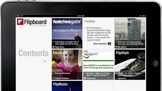 Twitter, en conversaciones para comprar Flipboard