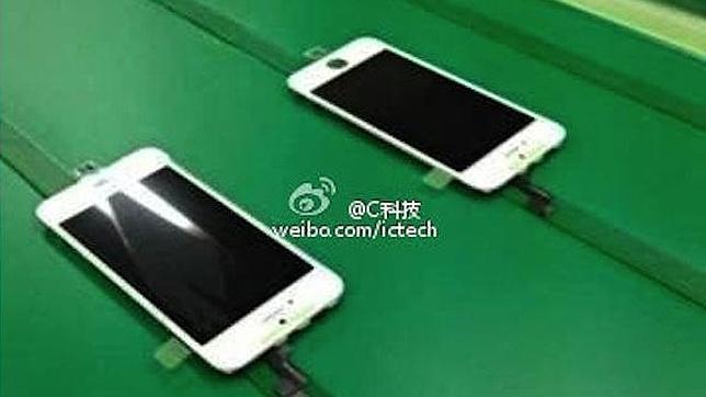 ¿Primera imagen del iPhone 5S en la línea de producción?