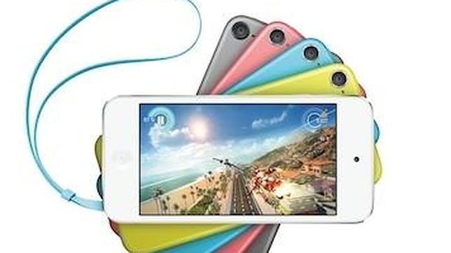 Apple incorpora colores y cámara iSight al modelo de iPod touch más asequible