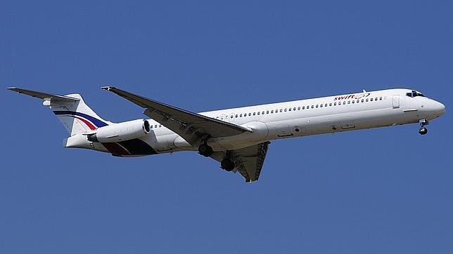 El avión de Swiftair y la muerte de Álex Angulo, entre los «trending topics»