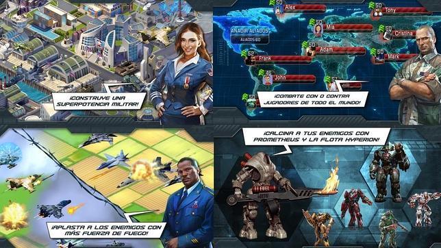 Los mejores juegos de estrategia militar para «smartphones»