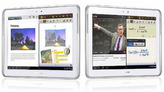Galaxy Note 10.1 acerca la multipantalla a las tabletas