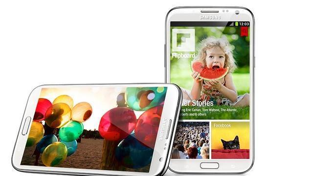 Samsung Galaxy Note II ha vendido cinco millones de unidades en dos meses