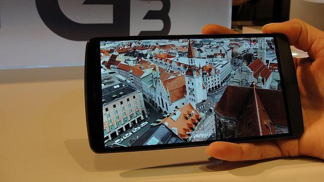 El LG G3 frente a sus rivales: Galaxy S5, Xperia Z2, iPhone 5S