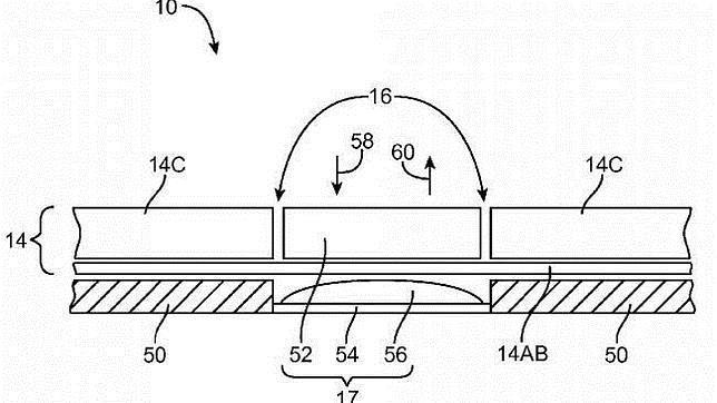 Apple patenta un diseño de pantalla flexible para iPad y iPhone