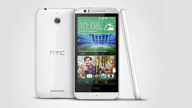 HTC Desire 510: un «smartphone» con procesador de 64 bits
