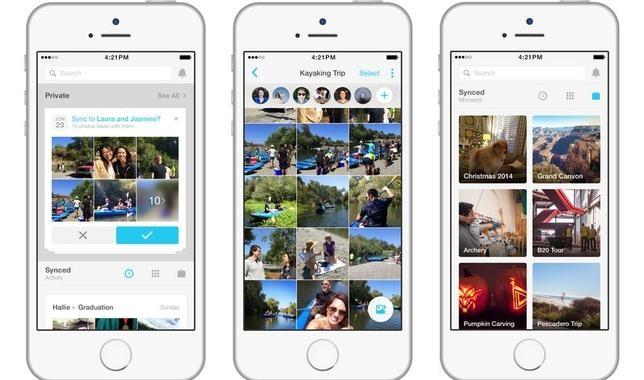 Facebook actualiza su aplicación «Moments» para crear vídeos con tus fotos