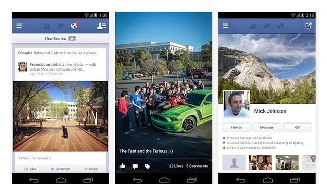 Facebook ya permite editar «posts» en Android