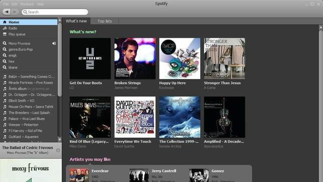 Sony se rinde con Music Unlimited e integra Spotify en su Play Station