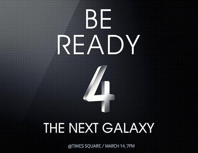 Samsung invita a descubrir el nuevo Galaxy en Times Square