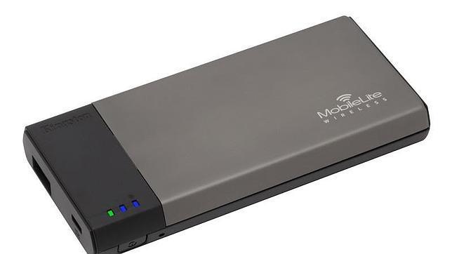 MobileLite Wireless, un disco duro que también es cargador de móviles