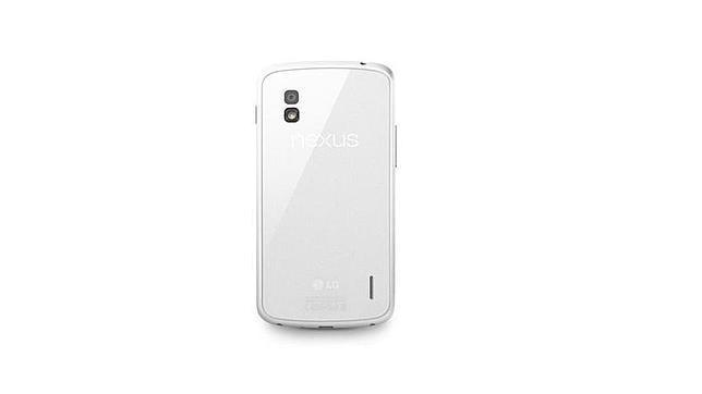 LG confirma el Nexus 4 en blanco