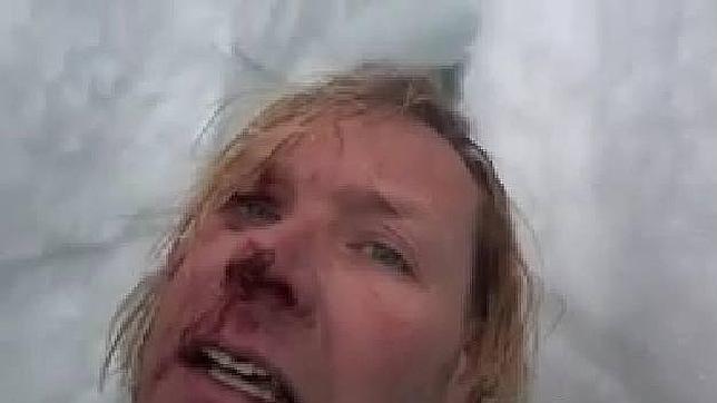 Un alpinista se salva tras pedir ayuda a sus amigos en un vídeo de Facebook