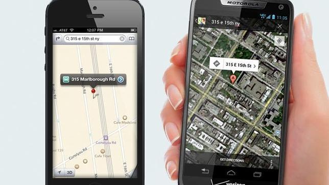 Motorola criticó Apple Maps con una dirección falsa