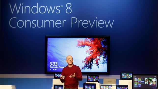 Microsoft vende 40 millones de Windows 8 en su primer mes de vida