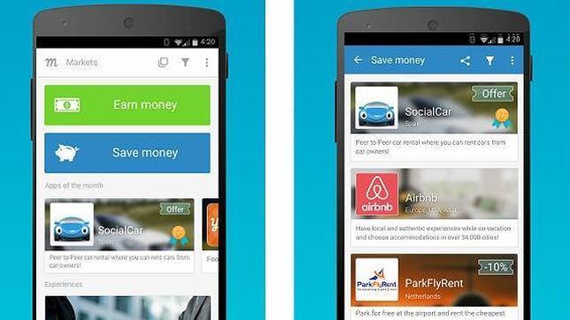 Markets by Traity: una «app» para adentrarse en la economía colaborativa