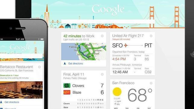 Google Now llega a dispositivos iOS
