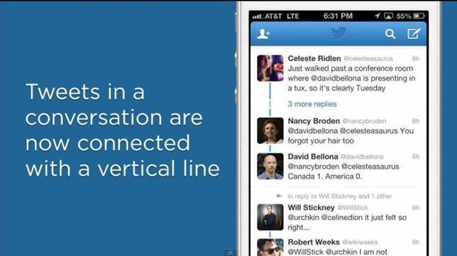 Twitter mejora la forma de seguir las conversaciones