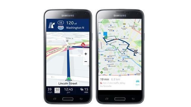 Nokia lanza sus mapas HERE para Android en exclusiva con Samsung
