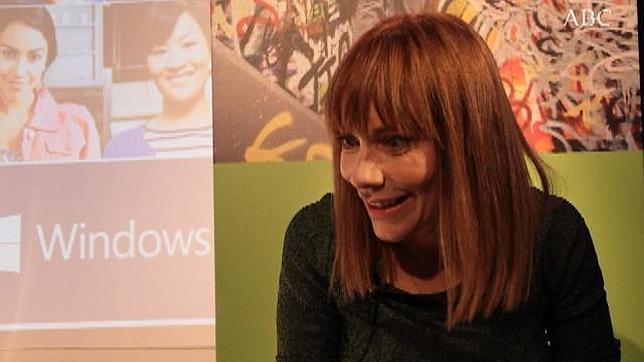 María Garaña: «Windows 8 es el sistema operativo más seguro que ha habido nunca»