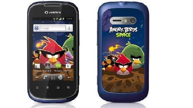 Vodafone lanza el «smartphone» Angry Birds