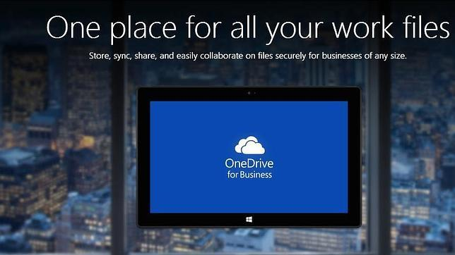 Microsoft aumenta la capacidad de «OneDrive for Business» a 1TB