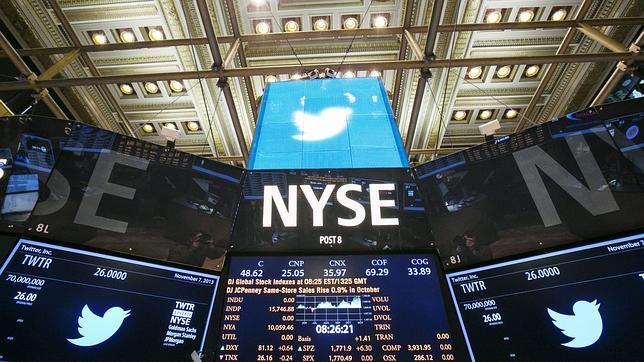 El frenazo en el número de «tuiteros» preocupa a Wall Street