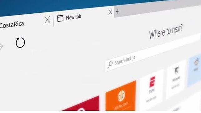 Microsoft Edge: primeros detalles del navegador que sustituirá a Internet Explorer