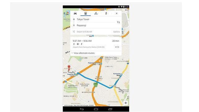 Google Maps para Android le hace un favor a los ciclistas