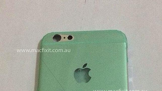 Aparece una imagen de la presunta carcasa trasera del nuevo iPhone 6