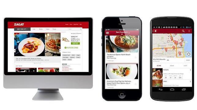 Google relanza Zagat, la guía de ocio, con versiones para dispositivos móviles